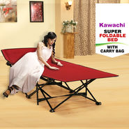 Kawachi Super Foldable Bed With Carry Bag