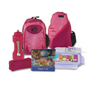 Kids Back To School 43cm Bagpack Combo For Girls Pink - CB1404