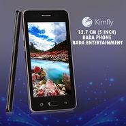 Kimfly 12.7 cm (5 inch), Bada Phone Bada Entertainment