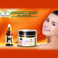 Kumkumadi & Saffron Gel with Oil_Upsell