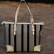 Arisha Black & White Handbag -LB 397