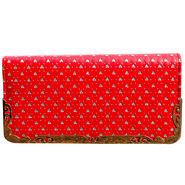 Sai Arisha PU Red Clutch -LB650