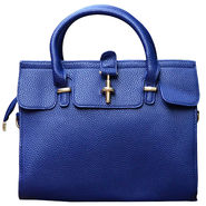 Sai Arisha PU Dark Blue Kelly handbags-LB691