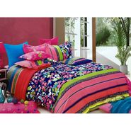 Lakshaya 100% Cotton Double Bedsheet With 2 Pillow Covers-LE-015
