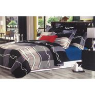 Velvet Double Bedsheet With 2 Pillow Cover-LE-VELV-005