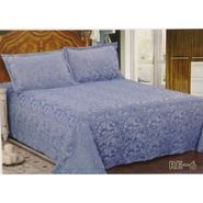 Velvet Double Bedsheet With 2 Pillow Cover-LE-VELV-009