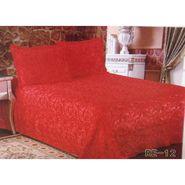 Velvet Double Bedsheet With 2 Pillow Cover-LE-VELV-011