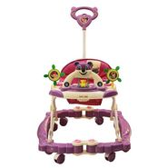 Baby Walker N Rocker Musical with Tray - Purple