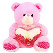 Valentine Stuff Heart Teddy Bear 60 cm - Pink