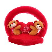 CloudieCouple OnHeart Valentine Stuff Teddy - Brown