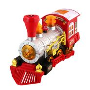 DealBindaas Dream Bubble Train Engine with Light & Music Toy Gift for Children Kids
