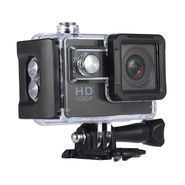 Vizio 12MP Action Camera with Helmet and Handle Mount for Motorcycle Video log