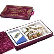 Premium Diwali Gift Box with Assorted Kajoo Sweets_MB46