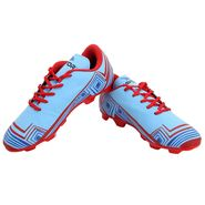 Mayor Sky Blue - Red Casilla Football Studs - 7