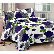Story@ Home 100% cotton Magic 1 Double Bedsheet With 2 Pillow cover-MG1298
