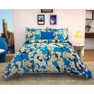 Storyathome 100% Cotton Double Bedsheet With 2 Pillow Cover-MG1472