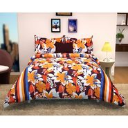 Storyathome 100% Cotton Double Bedsheet With 2 Pillow Cover-MG1480