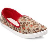 Meriggiare Canvas Multicolor Casual Shoes -Mgfb1014K