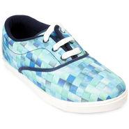 Meriggiare Canvas Blue Casual Shoes -Mgfb1017B