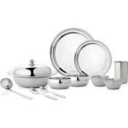 Mosaic Royal 54Pcs Dinner Set - Silver