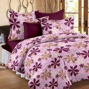 Storyathome 100% Cotton Double Bedsheet With 2 Pillow Cover-MP1203