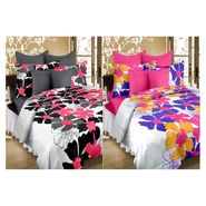 Valtellina Best Cotton 2 Double Bed Sheet with 4 Pillow Cover -MTR_SET_2-001