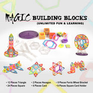 Magic Building Blocks - Unlimited Fun & Learning