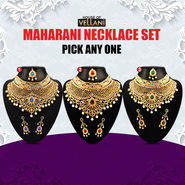Maharani Necklace Set - Pick Any One
