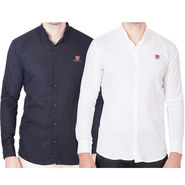 Cliths Pack of 2 Cotton Shirts For Men_Md069