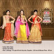 Pick Any 1 Mehek Designer Lehenga (DEL4)