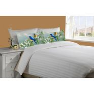 Mesleep White Double Bed Sheet With 2 Pillow Covers- SS-Pillow-02-29