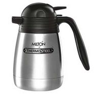 Milton Thermosteel Carafe Vacuum Insulated 2 Ltr - Silver