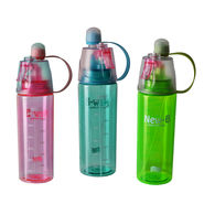 Mist Spray Sports Water Bottle