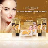 MondSub Paris Gold Collagen Peel Off Facial Mask