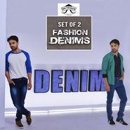 Mr. Tusker Set of 2 Fashion Denims (MS2)