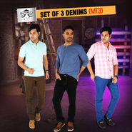 Mr. Tusker Set of 3 Denims (MT3)
