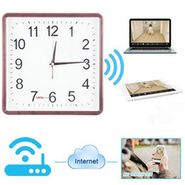NPC  SECURITY  WIFI WALL CLOCK CAMERA  DIRECTR VIEW ON MOBILE-NPCWALLWIFI1
