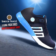 Bacca Bucci 3 Guna Jyada Shoes (Nano Tech Comfort Shoes)