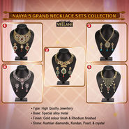 Navya 5 Grand Necklace Sets Collection