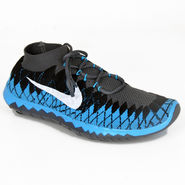 Nike Mesh Sports Shoes Nike Free 3.0 Grey & Sky Blue