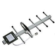 NPC GSM Dual Band Outdoor Yagi Antenna 900/1800 Mhz-9Dbi - Silver