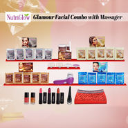 Nutriglow Glamour Facial Combo with Massager