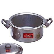 OK Non-Stick Stew Pan with Lid-STP3 - Black