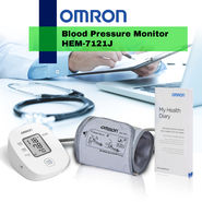 Omron Blood Pressure Monitor HEM-7121J_Upsell