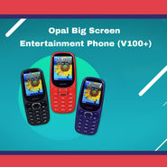 Opal Big Screen Entertainment Phone (V100+)