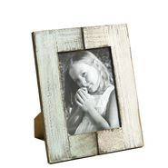 Double Color Wooden Photo Frame with Brush Stroke Finish-PF1407
