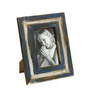 Nostalgic Blue Finish Wooden Photo Frame-PF1411