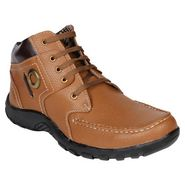 Pede Milan Faux Leather Casual Shoes PM-ASD-1111-Tan