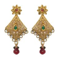 Pourni Polki & Color Stone Earring_PRER17