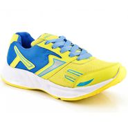 Provogue Mesh Sport Shoes Pv1094-Yellow & Sky-40